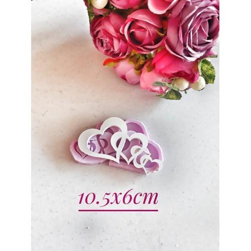 HD1026-İç İçe Boş Kalp