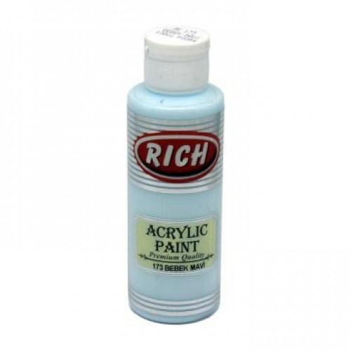BY028-Rich Akrilik 173 Bebek Mavi 130Cc