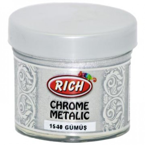 BY052-Rich Chrome Metalic 1540 Gumus 50Cc