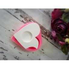 HD0515-Isırılmış Kalp Mumluk